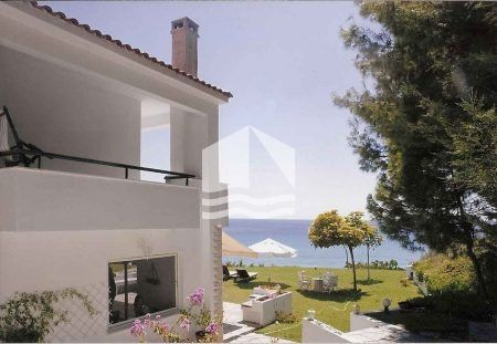 Sea View Maisonette Skioni – side view