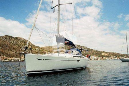 Elpida Jeanneau 45 Sun Odyssey boat
