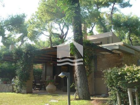 Splendid Villa in the Heart of Sani – front porch