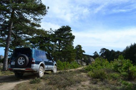 jeep tour sithonia road
