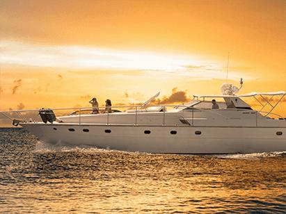 yacht chalkidiki