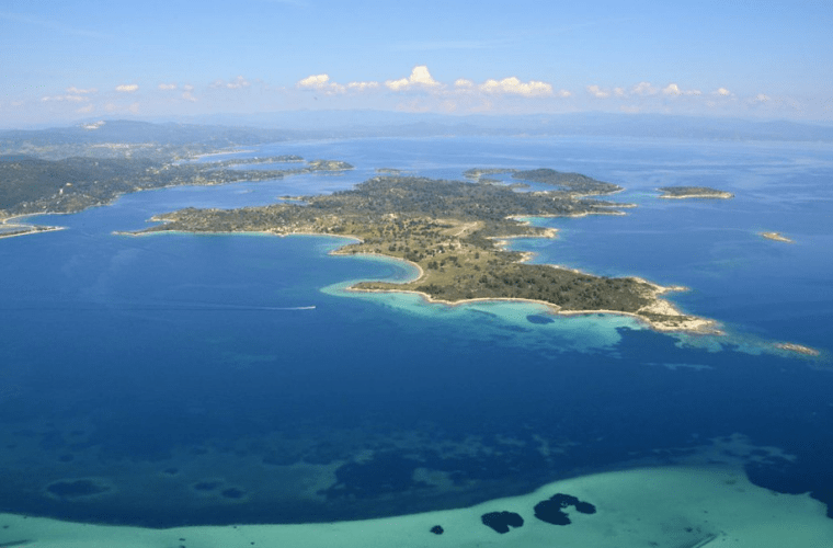 diaporos island chalkidiki
