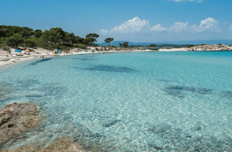 karydi beach vourvourou sithonia