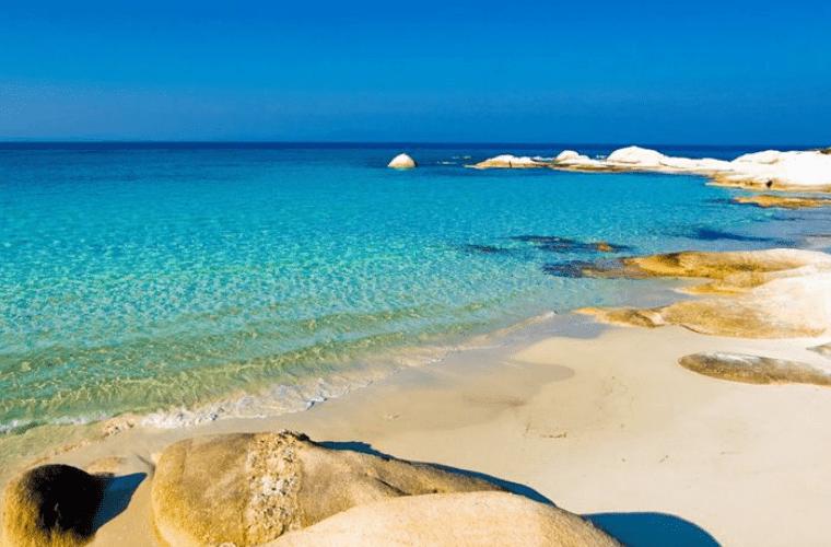 kavourotripes beach sithonia halkidiki
