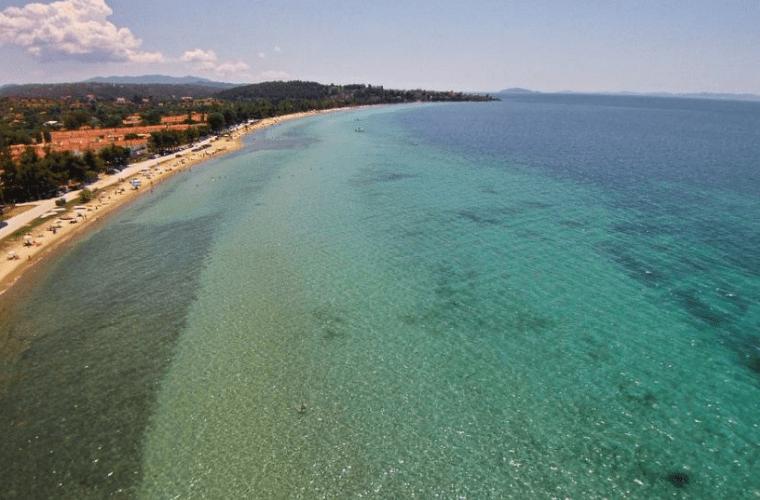 nikiti beach sithonia chalkidiki
