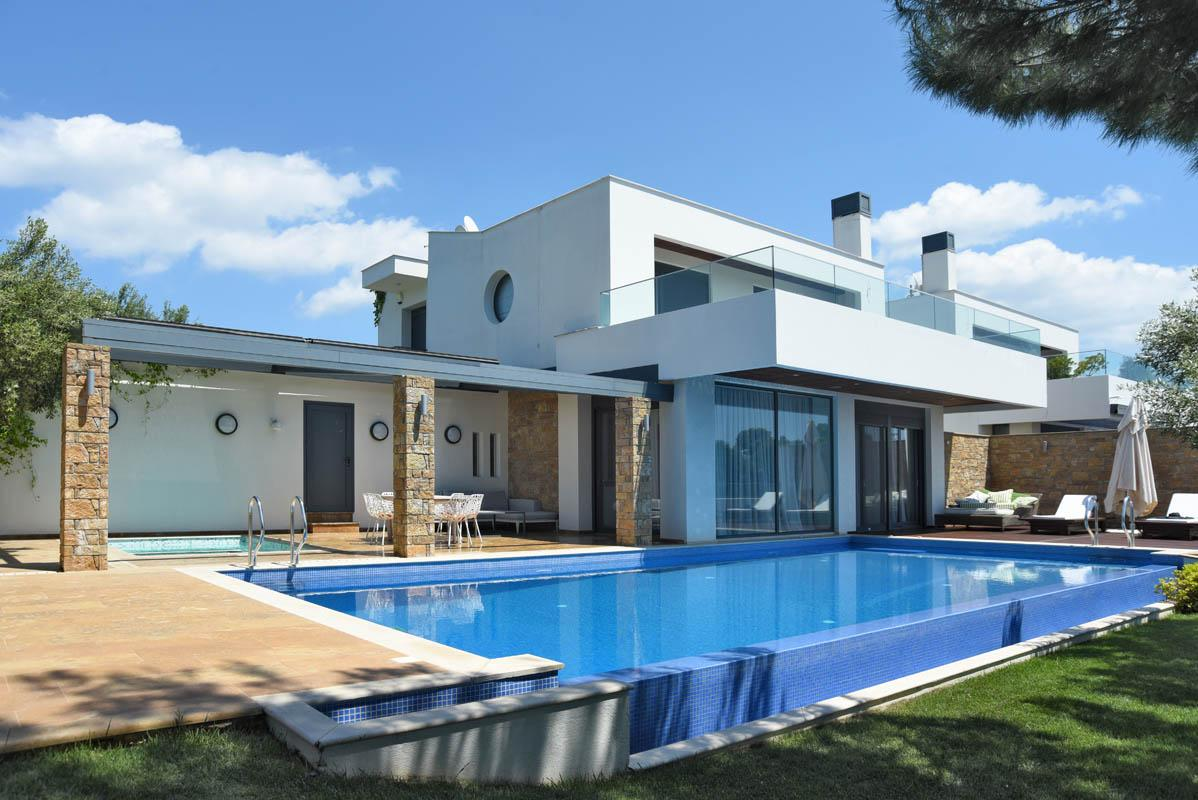 amazing seaview villa siviri