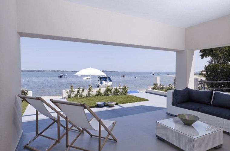 seafront villa vourvourou